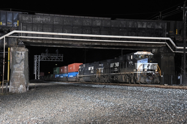 First Norfolk Southern Heartland Connector train.