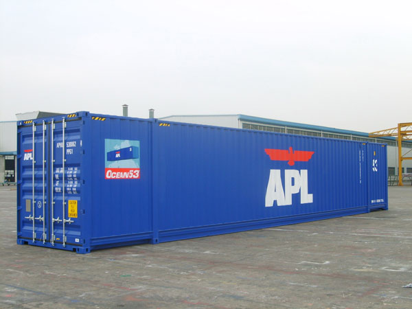 Apl Abandons 53 Foot Ocean Containers