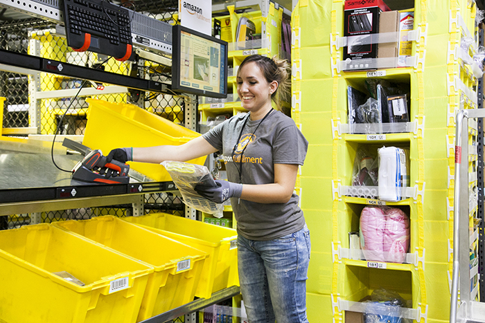 Kansas City effort to help Amazon keep fulfillment center
