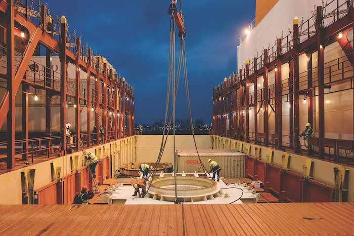 competition for breakbulk cargo heats up on high seas. Black Bedroom Furniture Sets. Home Design Ideas