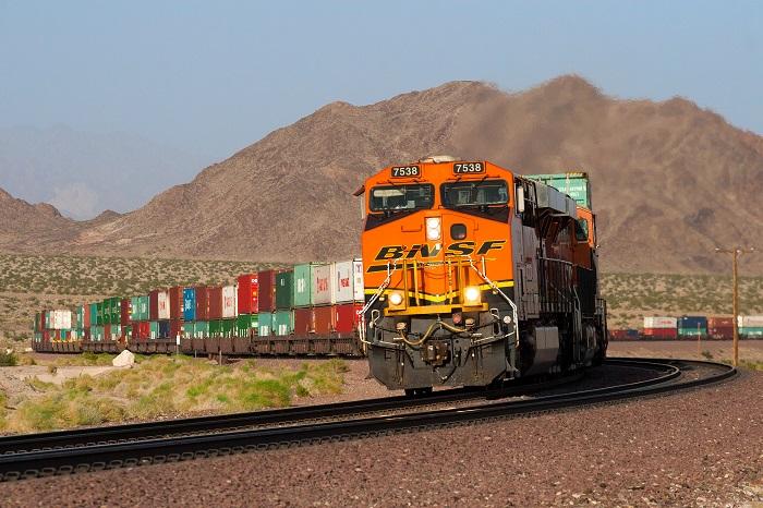 BNSF Los Angeles Rail Transfer Yard: Stalled BNSF's LA-LB