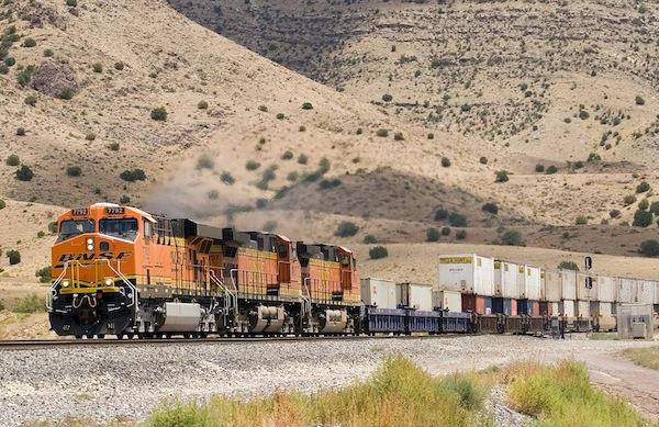 intermodal train, BNSF