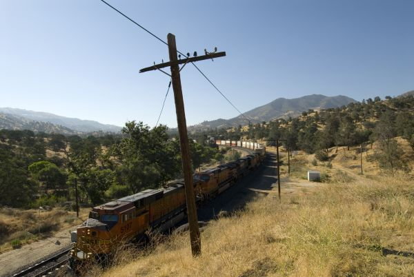 BNSF in California