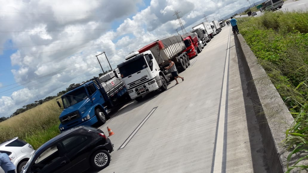 Brazil truckers on strike - May and June 2018.