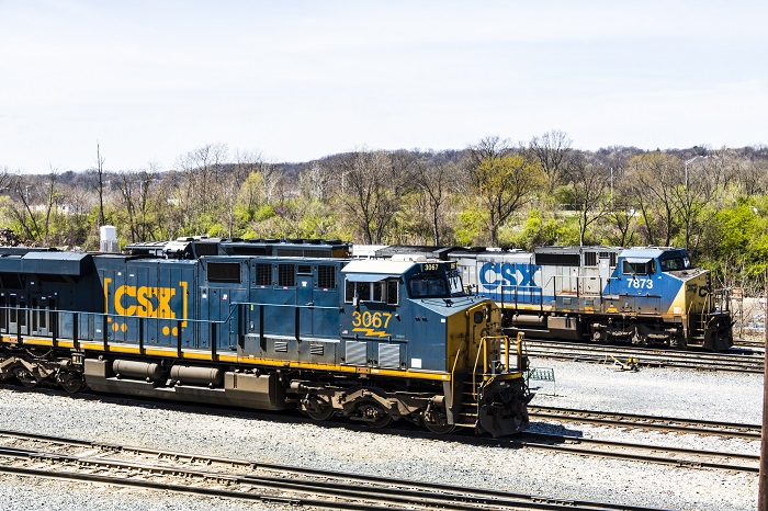csx railroad chicago shippers responding to higher costs via csx