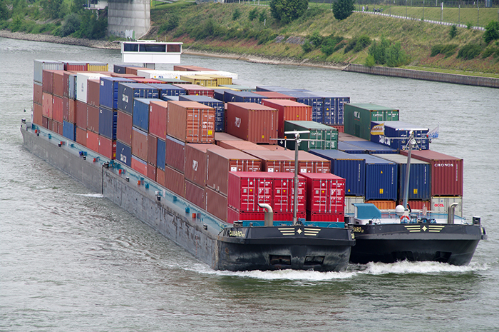 Inland waterways: Container-on-barge services get federal