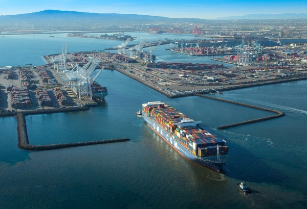 Inaugural Long Beach Call Of Cma Cgm Corte Real Brings Home Mega Ship Demands On Ports Joc