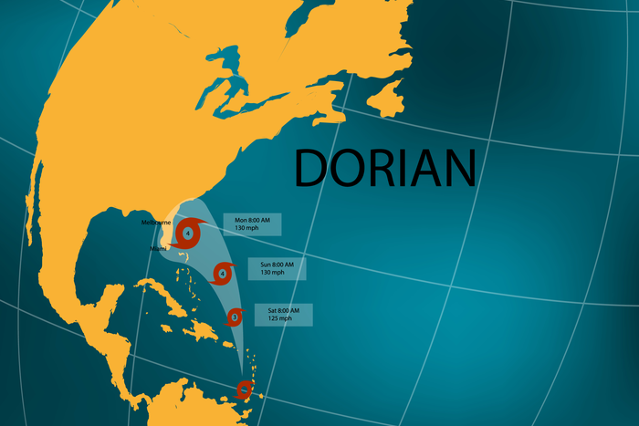 Hurricane shipping: Florida, Georgia ports close as Dorian ...