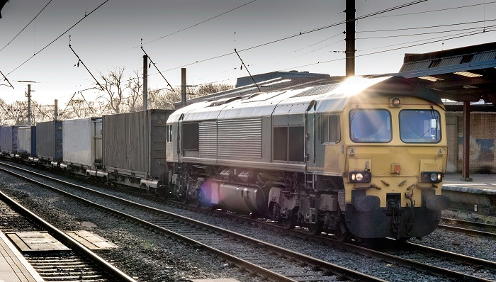 Europe rail freight.