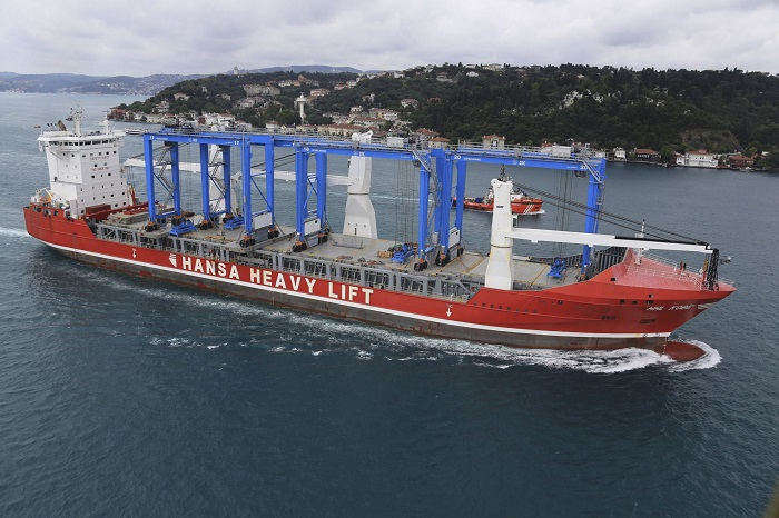 Hansa Heavy Lift Bankruptcy  Hansa Heavy Lift End Occurs Amid Signs Of Sector Firming