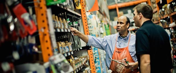 Online Sales Transforming Home Depot