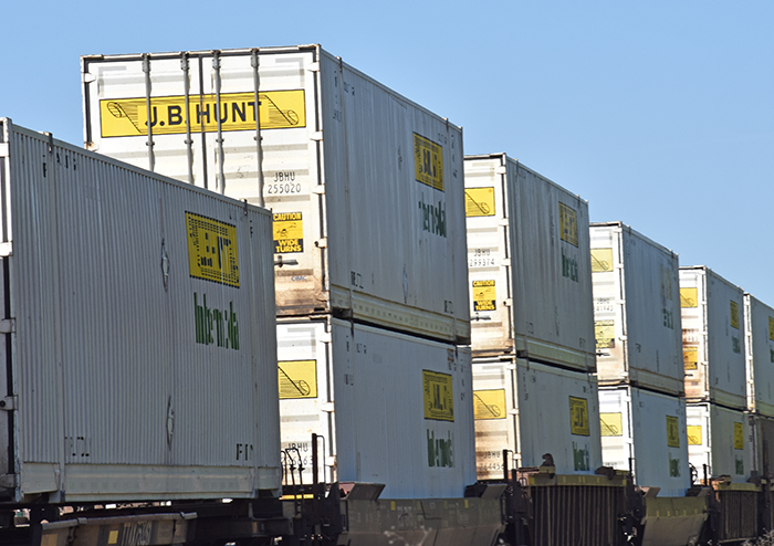 us shippers seek capacity with jb hunt intermodal dedicated truck