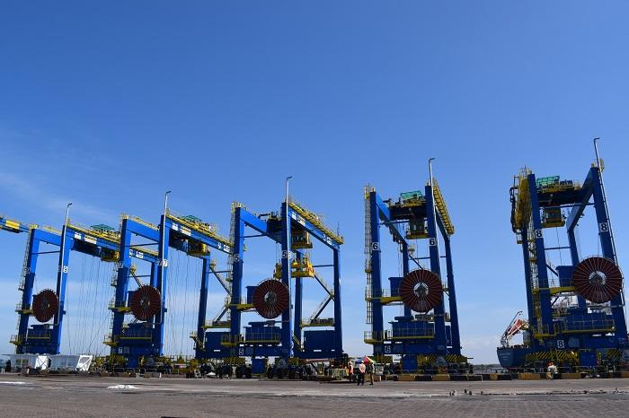 Krishnapatnam Port: Krishnapatnam Port's five new gantry