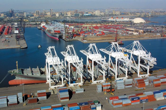 As Congestion Mounts In Southern California The Port Of Long Beach Is Taking Immediate Actions To Target Hot Spots Harbor Area And Share