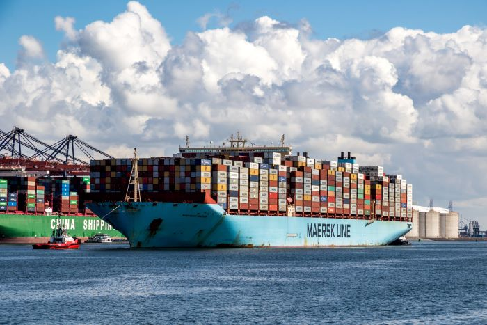 Container-Lines: Maersk secures IMO 2020 fuel at Rotterdam