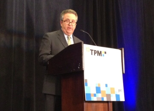 BNSF Railway CEO and Chairman Matt Rose at TPM 2013.