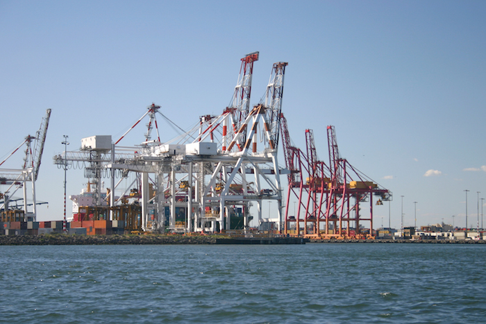 Port of Melbourne, Australia
