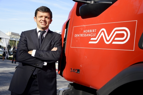 Herve Montjotin, new CEO of Norbert Dentressangle Group.
