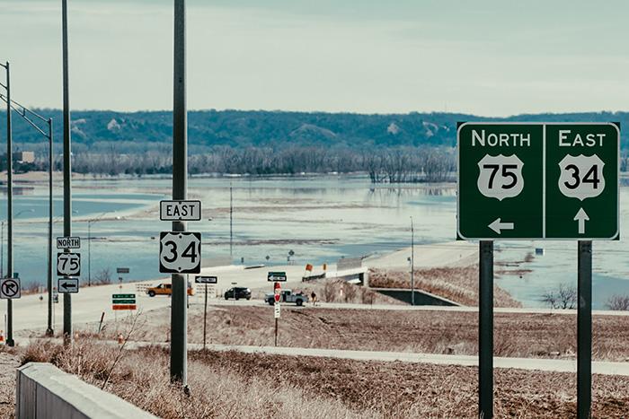US trucking: 'Landlocked' Werner rides out historic floods