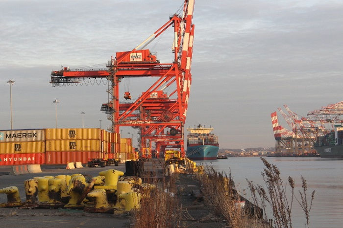 The Port Newark Container Terminal (PNCT) in New Jersey.