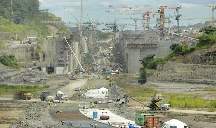 Panama Canal expansion project