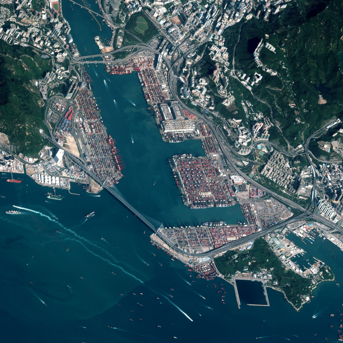 No Respite From Falling Volumes At Hong Kong Port Joc Com