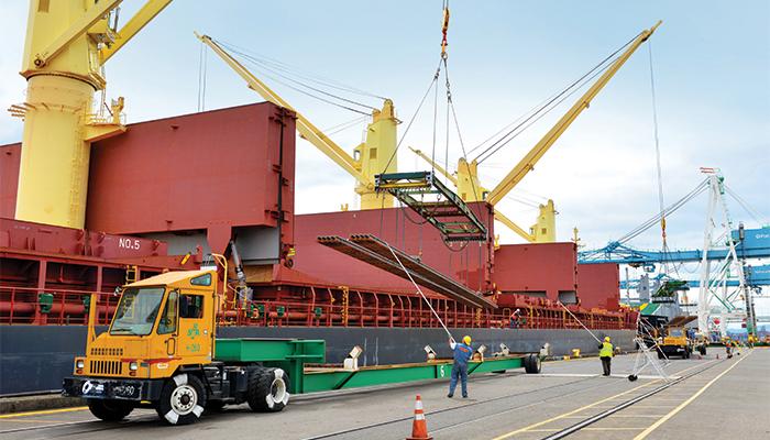 US Northwest ports race for breakbulk shipments | JOC com