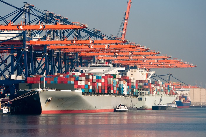 Port of Rotterdam.