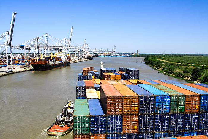 Trans-Pacific trade: Savannah, Houston drive Asia import shift to