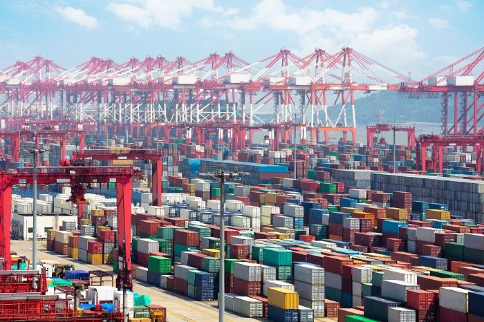 Port of Shanghai Hangshan.