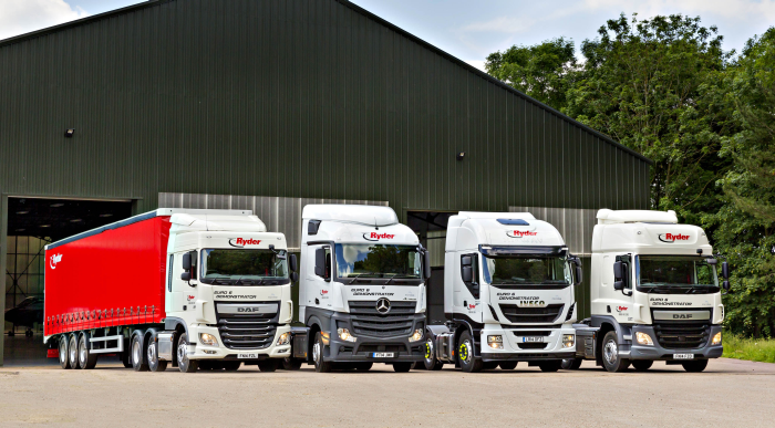 Ryder S Uk Customers Test New Trucks As European Regulations Boost Costs