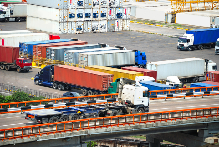 Trucking: The front-loading of Chinese imports to avoid