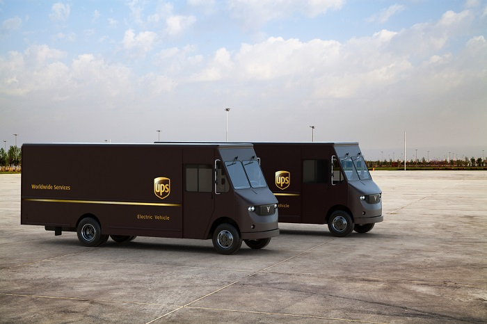 Ups To Test Thor Trucks Electric Delivery Vans In La