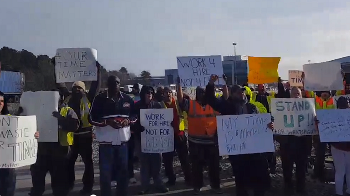 US Trucking: Amid Virginia truck protests, port urges patience