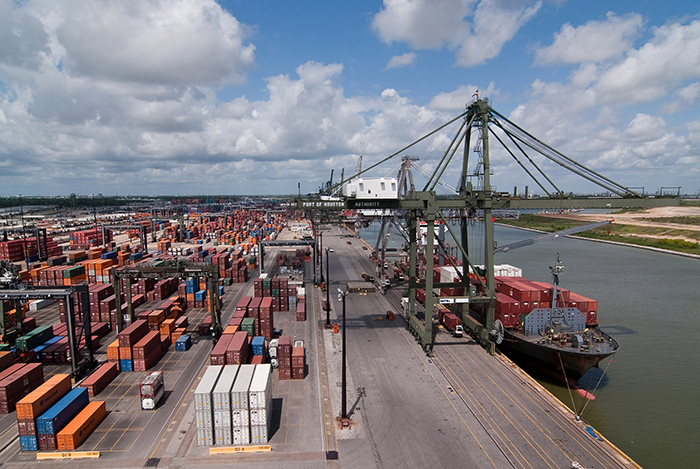 Barbours Cut Terminal in the Port of Houston