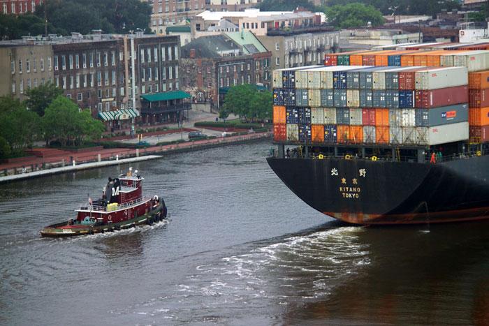 Accord allows Savannah to beginning dredging project | JOC com