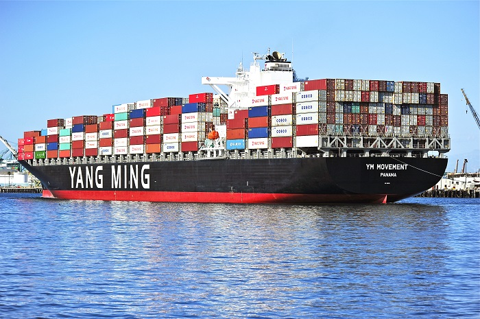 Yang Ming's consolidated revenues up in Q1