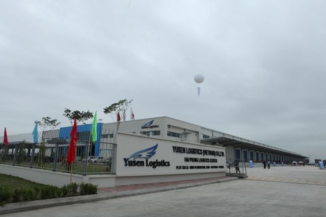 Yusen Logistics warehouse