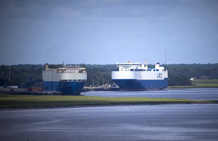 Port of Brunswick: Brunswick expands to meet increasing roll