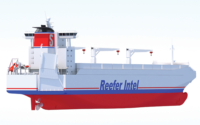 New Reefer Ship Design Seeks To Cut Turnaround Times Shipper Costs