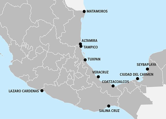 Veracruz Lazaro Cardenas focus of major Mexican port investment