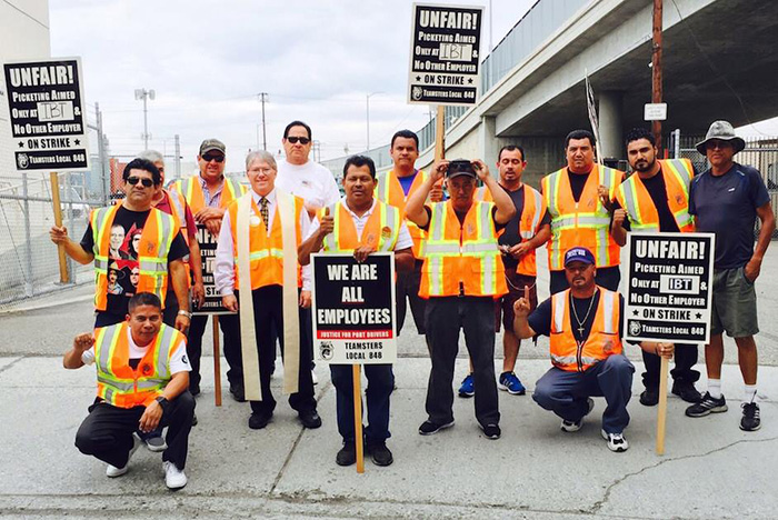 Labor activism challenges dominant drayage business model