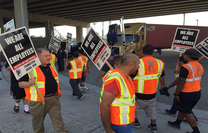 Teamsters ramp up drayage, warehouse worker organizing