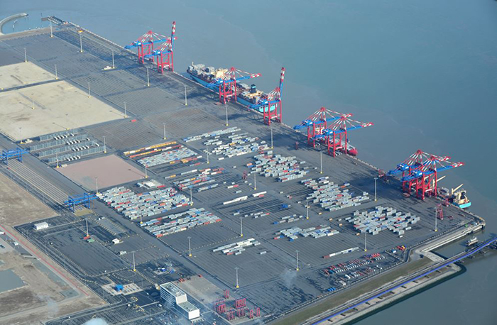 Jadeweserport Gets Backing For Second Container Terminal Joccom
