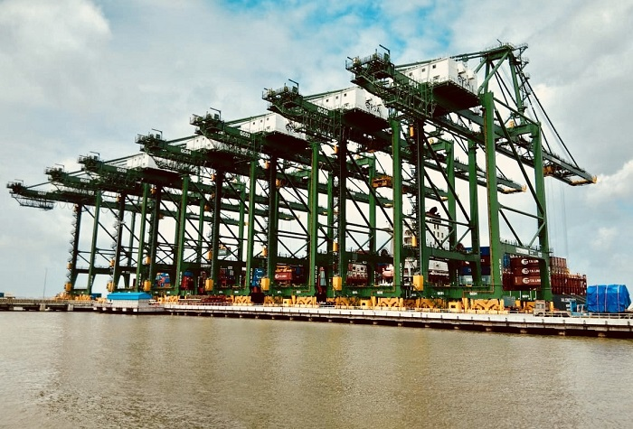 Bharat Mumbai Container Terminals credit PSA India.