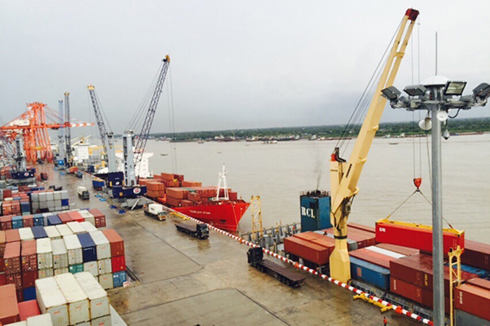 Trade imbalance fuels congestion at myanmars busiest port thecheapjerseys Gallery