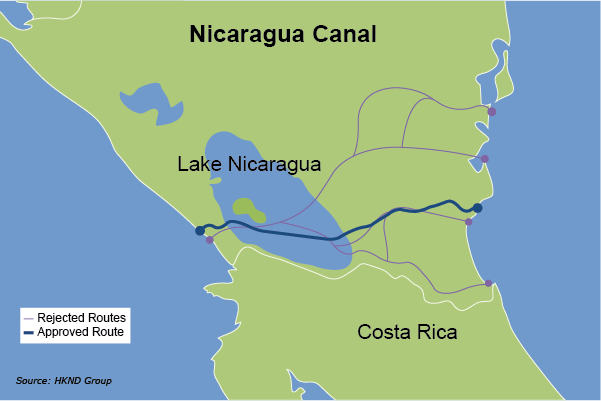 Are Nicaragua Canal Plans Driven By Geopolitics
