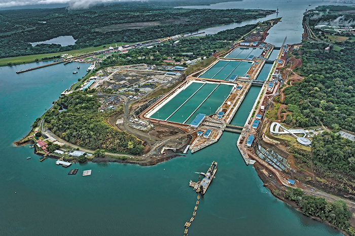 2m to shift usec all water service from suez to panama