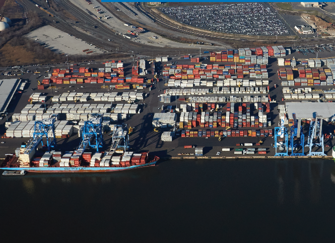 Port of Philadelphia.