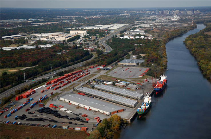 Shippers Using Virginia Port Tap Richmond As Distribution